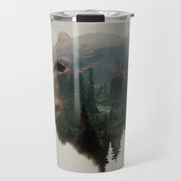 The Pacific Northwest Black Bear Travel Mug