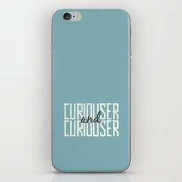Curiouser and Curiouser iPhone Skin