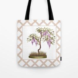 Wisteria . Tree 2 Tote Bag