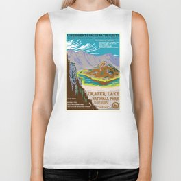 National Parks 2050: Crater Lake Biker Tank