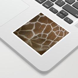 Giraffe print Sticker