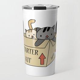 Crazy Cat Lady Starter Kit Travel Mug
