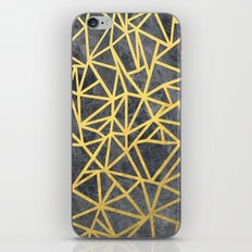 Ab Marb Gold iPhone & iPod Skin