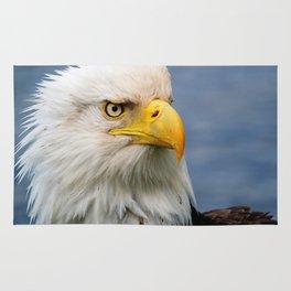 American Bald Eagle Portrait Rug