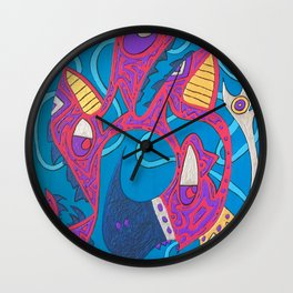 From The Rafters Wall Clock