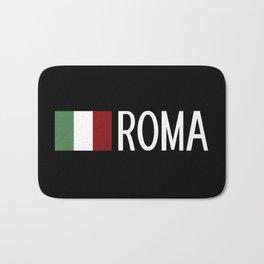 Italy: Italian Flag & Roma Bath Mat