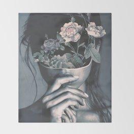 inner garden Throw Blanket
