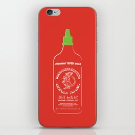 Pass The Yamok Sauce (Clear Bottle Ver) iPhone Skin