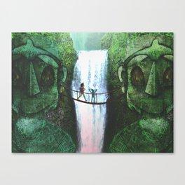 Forbidden Falls Canvas Print