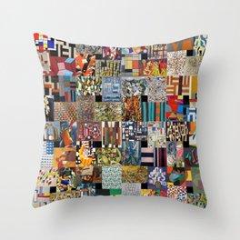 Contemporary Artists Throw Pillow