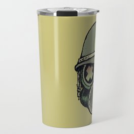War Skull Travel Mug
