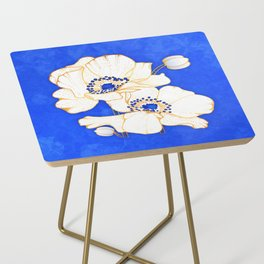 Ultramarine Blue :: Anemones Side Table