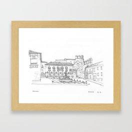 Baeza Framed Art Print