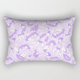 Cool Puppy Dreams Rectangular Pillow