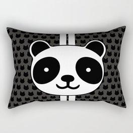 Racing Panda Rectangular Pillow