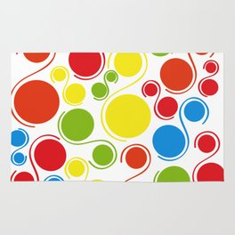 Bubbles of joy Rug