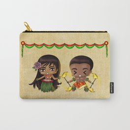 Hawaiian Chibis Carry-All Pouch