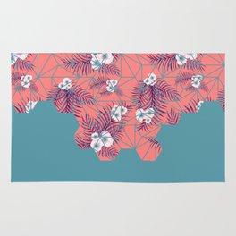 Tropical Fluo Tiles #society6 #decor #buyart Rug