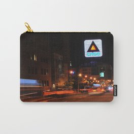 See It Go -- Boston Night.  Kenmore Square Carry-All Pouch