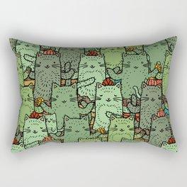 Catcus Garden Rectangular Pillow