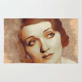 Constance Bennett, Hollywood Legend Rug