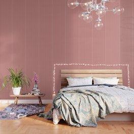 Aurora Red Stripes Wallpaper