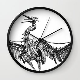 a marvelous creature Wall Clock