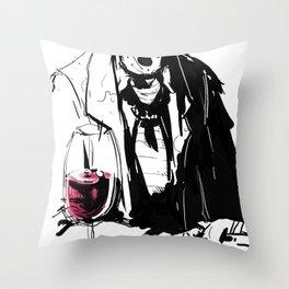 Bandido Bebedo Throw Pillow