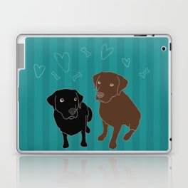 Retriever ChocoBlack Laptop & iPad Skin