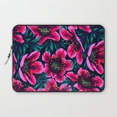 Manuka Floral Print Laptop Sleeve