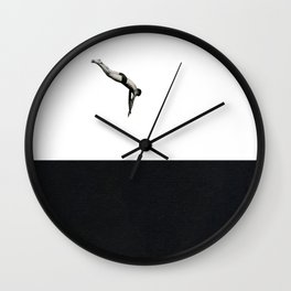 Dive Wall Clock