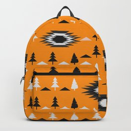 Pine trees- ethnic pattern Backpack