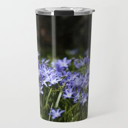 Blue Scilla Travel Mug