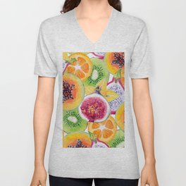 Tutti Frutti summer delight Unisex V-Neck