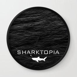 Sharktopia - 2018 Logo Wall Clock