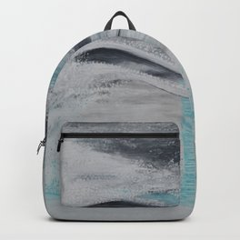 """""""Wind And Water"""" Painting1of 2 - Elements Series Backpack"""