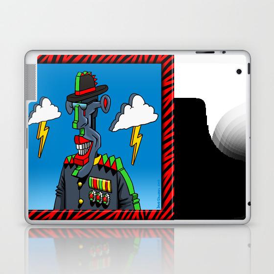 General Weather Condition Laptop & Ipad Skin by Davidedwardsart LSK8702649