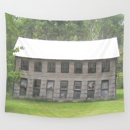 The old barn Wall Tapestry