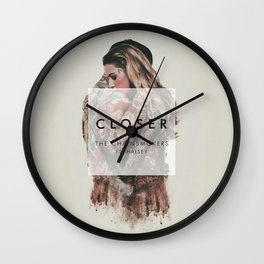 The Chainsmokers Closer Wall Clock