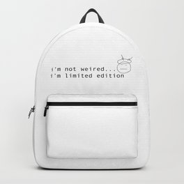 I am limited edition Backpack