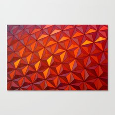 Geometric Epcot Canvas Print