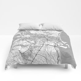 Valencia Map Line Comforters