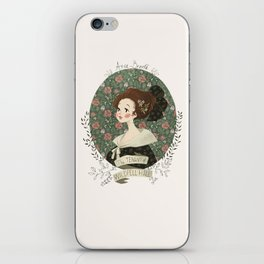 The tenant of Wildfell hall iPhone Skin