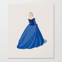 Catherine Paar - sixth and last Henry VIII wife Canvas Print