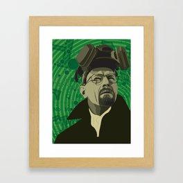 Breaking Bad Green Framed Art Print