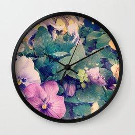 Photo Flower Wall Clock