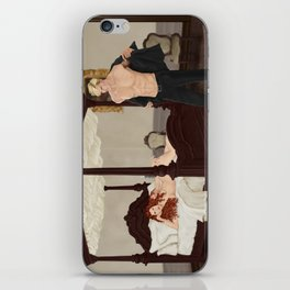 strange bedfellows iPhone Skin