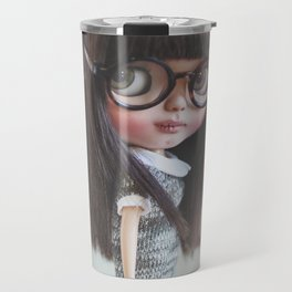 AYA CUSTOM BLYTHE DOLL BY ERREGIRO Travel Mug