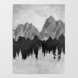 Layered Landscapes Poster