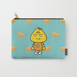 SULKY FACE tangerine Carry-All Pouch